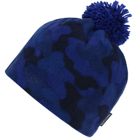 Regatta Fallon Bonnet Enfant, royal blue camo
